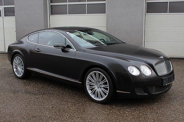 Bentley Continental GT Speed – Mulliner voll