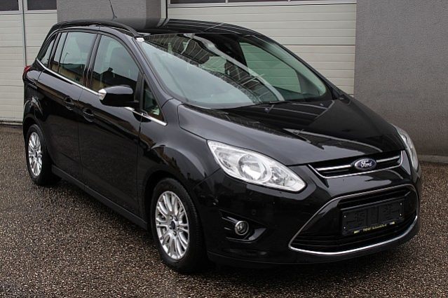 Ford Grand C-MAX Titanium 2,0 TDCi DPF Powershift voll